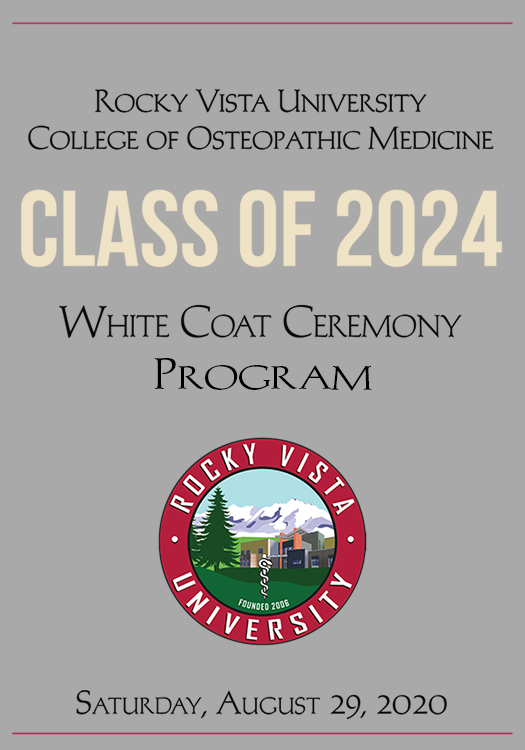 RVU COM White Coat Ceremony Program Class of 2024