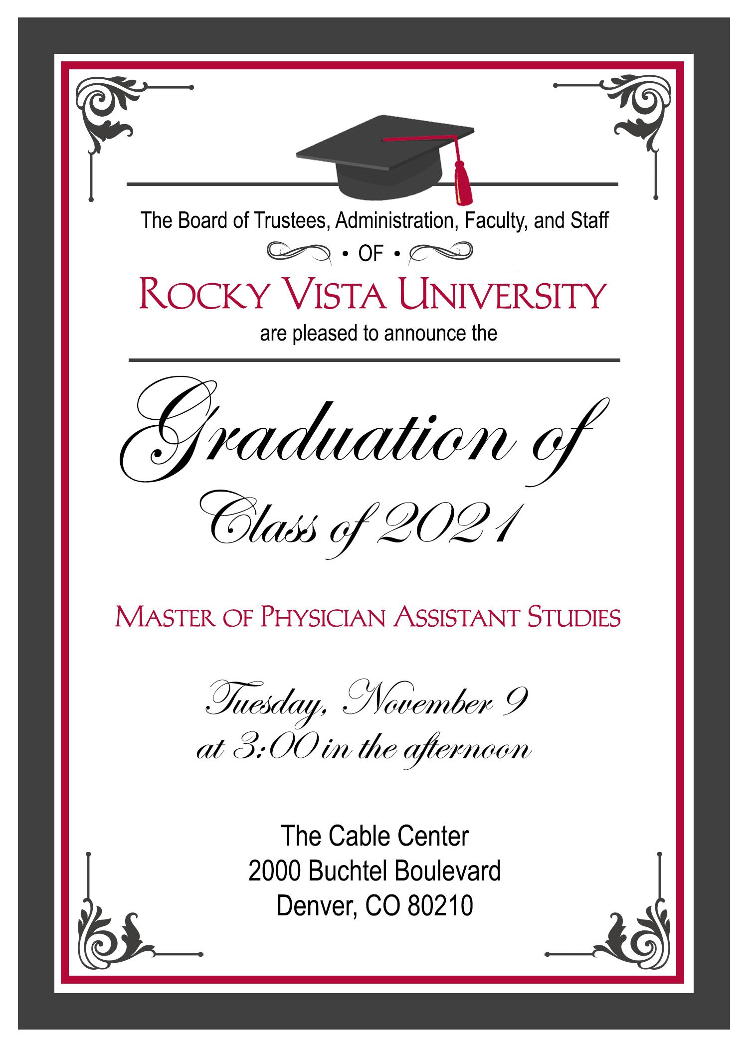 20210914_PA Graduation Announcement