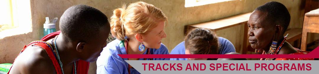 Banner Tracks and Specail programs_University