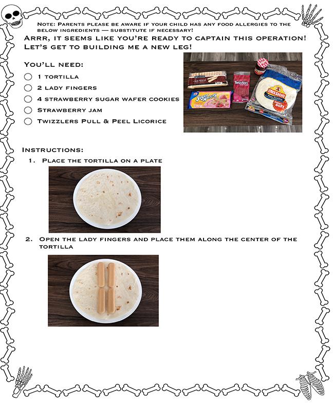 Children Edible Bones Activity-5