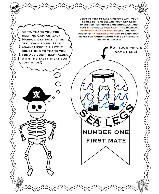 Children Edible Bones Activity-8