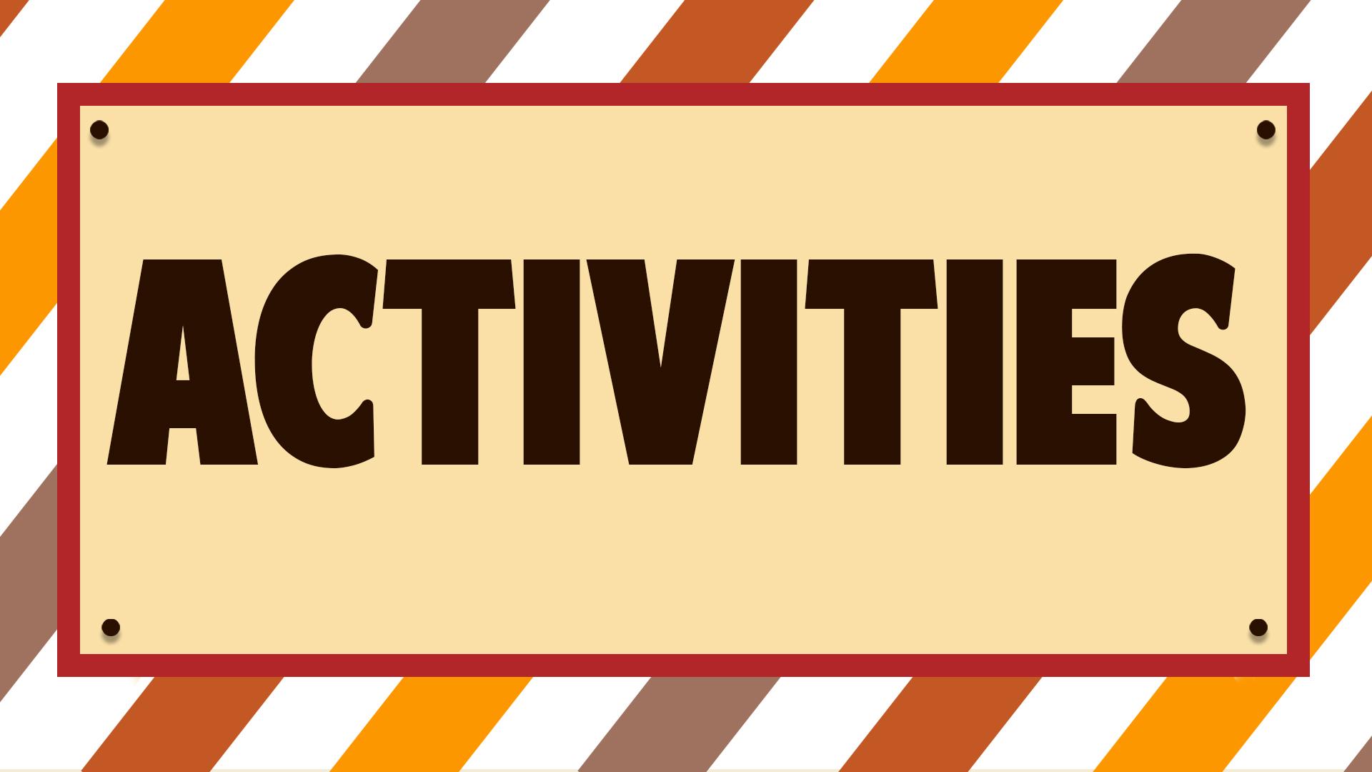 Web banner_Activities