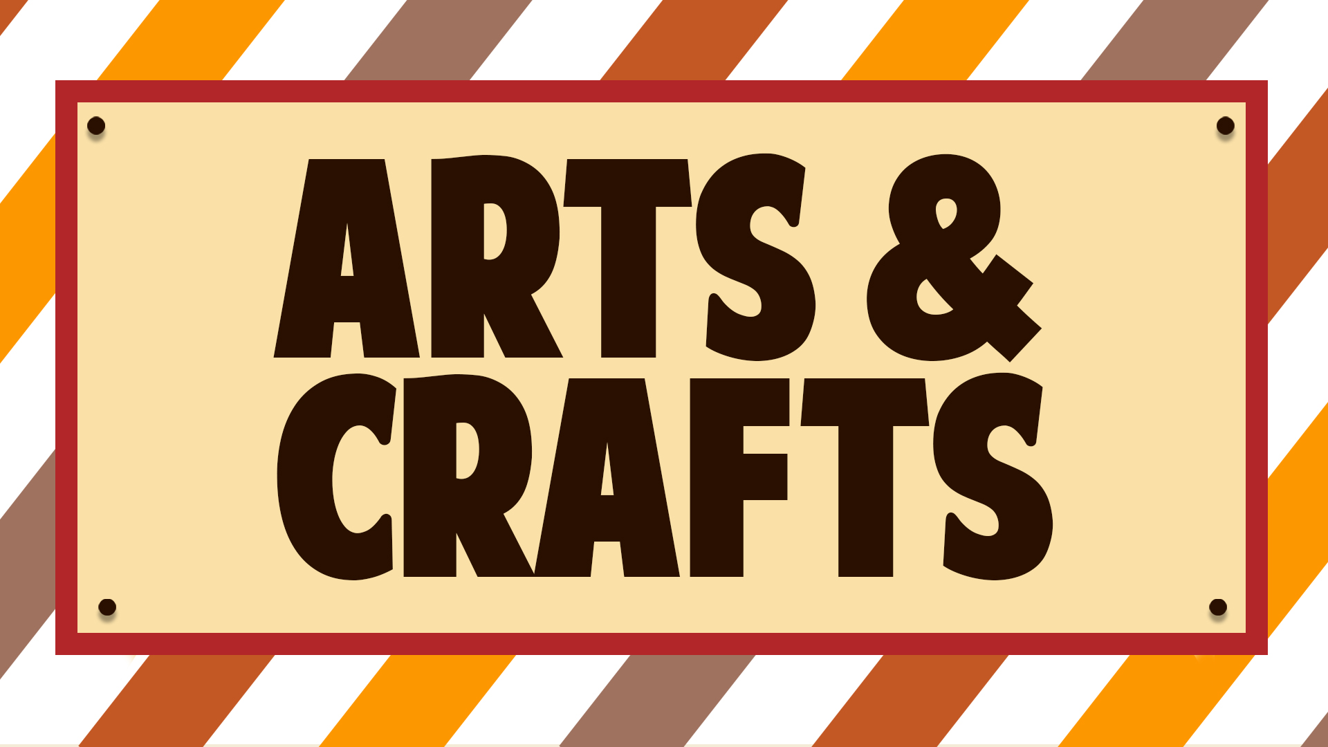 Web banner_Arts&Crafts