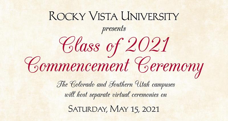 RVU Class of 2021 Graduation