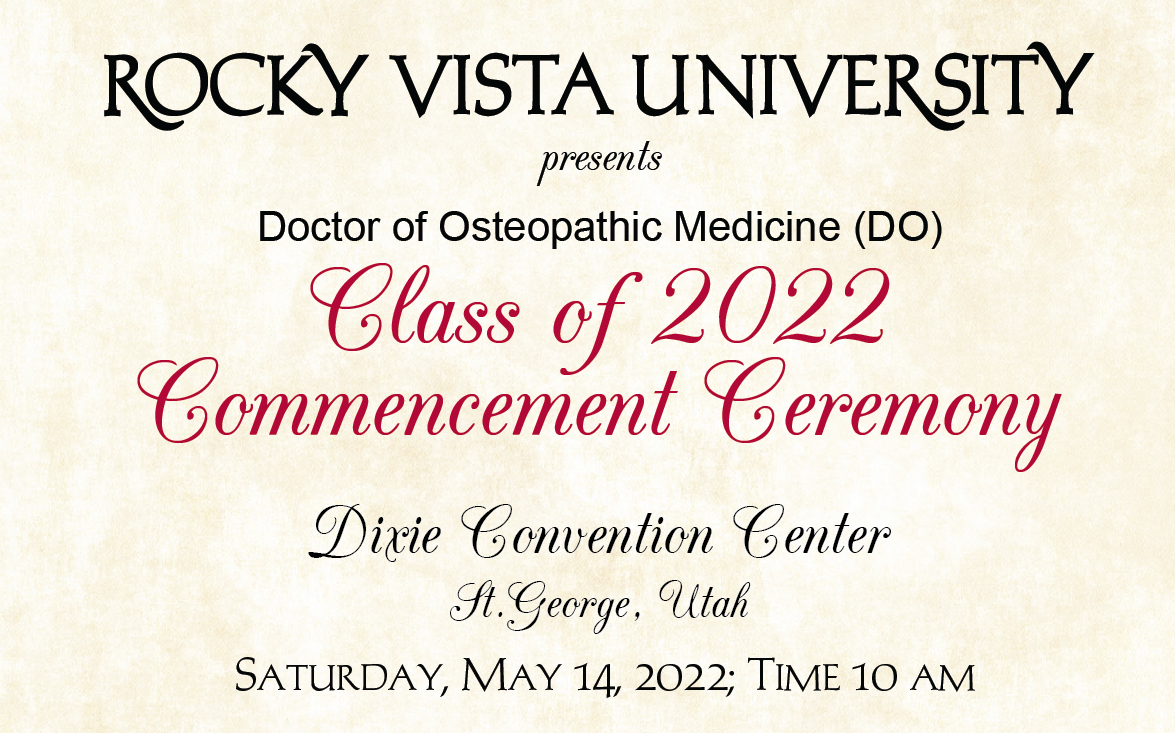 DO Class of 2022 - Utah Commencement